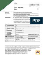 Aparejo Blanco Humedo - Humedo 285-38voc