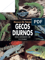 Manual Del Terrario- Gecos Diurnos