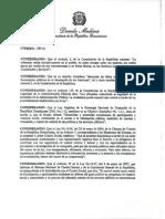 Decreto 188-14 Comisiones Veeduria