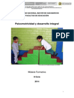 Psicomotricidad y Desarrollo Integral UNIDAD 2