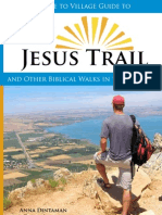 Hiking the Jesus Trail Guidebook (sample pages)