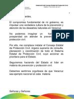 11 01 2011 Instalación del Consejo Estatal de Protección Civil