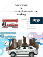 presentation on automatic car wash