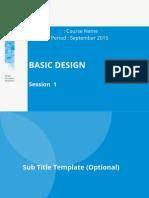 Basic Design Presentation