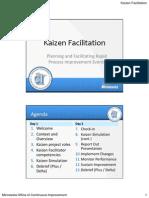 Kaizen Facilitator Training Slide Handout