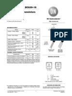 BC637 datasheet