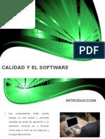 Calidad y El Software