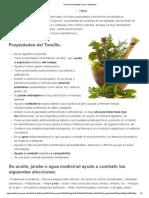 Tomillo_ Propiedades, Usos y Beneficios