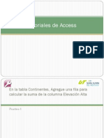 Tutoriales de Access