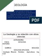 GEOLOGÍA DIAPOSITIVAS COMPLETA