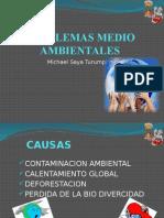 Diapositivas de Problemas Medioambientales