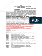 Syllabus American Literature IIIA 2015(1)