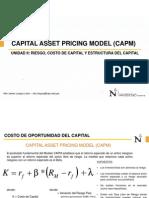 Costo de Capital-Modelo CAPM