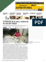 La Historia de La Ama y Señora de La Casa Del Alfajor _ Peruana _ Gastronomía _ El Comercio Peru