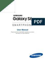 AT&T Samsung Galaxy S6 User Manual SM-G920A, English
