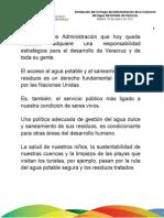 18 01 2011 Instalación del Consejo de Administración de la Comisión del Agua del Estado de Veracruz