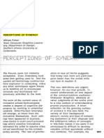 FETTER, William. Perceptions of Synergy