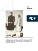 My Brother - By Fatima Jinnah
