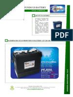 PDF Técnico - Baterías Us 220 Ah