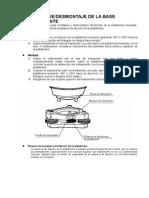 Chapt 15 Montaje-Desmontaje de La Base Nivelante GPT-3000W