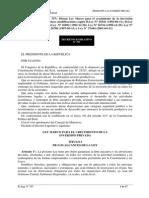 d Leg 757 Ley Marco Para El Crecimiento de La Inversión Privada