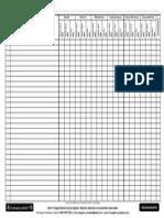 Cuadro de Calificaciones Parciales por Grado (CCPG) - Nivel Básico