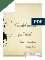 Presentación - Curso Geotecnia