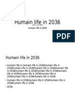 Humanity Live in 2037