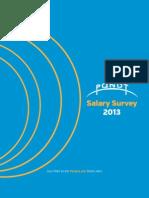 PQNDT 2013 Salary Survey