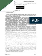 d Leg 839 Ley de Prom de La Inversión Privada en Obras Publicas de Infraestructura y de Servicios Publicos
