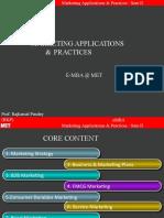 Marketing Application
