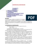 259495078 La HIPOTESIS en La Investigacia n (1)