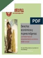 Derechos económicos y mujeres indígenas