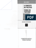 O Conceito de Político - Carl Schmitt