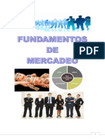 Cartilla Fundamentos de Mercadeo