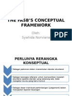 The Fasb's Conceptual Framework