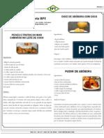 Culinária BPT Doce de Abobora Coco