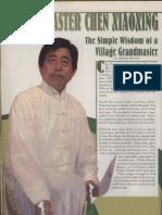 Chen Xiao Xing - KungFu TaiChi  Magazine