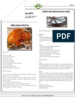 Culinária BPT Peru de Natal