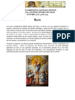 Novena a Nuestra Señora Del Pilar
