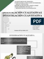 Investigacion cualitativa e cuantitativa