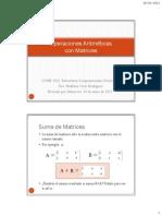 02 Matrices Operaciones