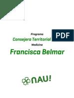 Programa Francisca Belmar - Medicina