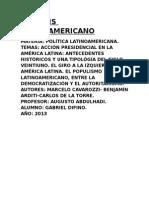 Analisis Latinoamericano