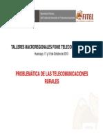 Fonie Taller 02problematica Telecom Rurales Fitel