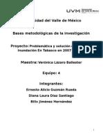Inundación en Tabasco 2007 - 2012