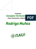 Programa Rodrigo Muñoz - Física Matemática