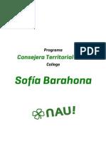 Programa Sofía Barahona - College