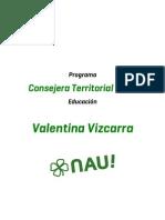 Programa Valentina Vizcarra-Villarrica