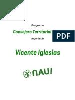 Programa Vicente Iglesias - Ingeniería